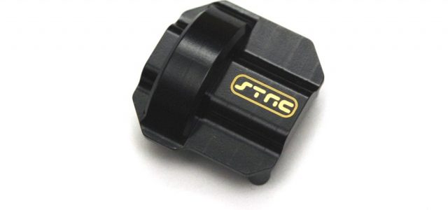 STRC Heavy Duty Brass Diff Covers For The Traxxas TRX-4 & Axial SCX10 II