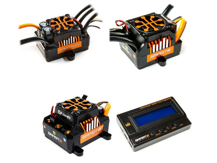 Spektrum Firma Smart Brushless Electronic Speed Controls