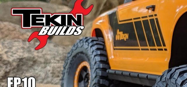 Tekin Builds Ep. 10 – Vanquish VS4-10 PRO Electronic & First Run [VIDEO]