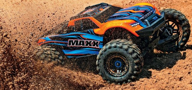 Traxxas 1 10 Maxx Monster Truck Rtr Rc Car Action