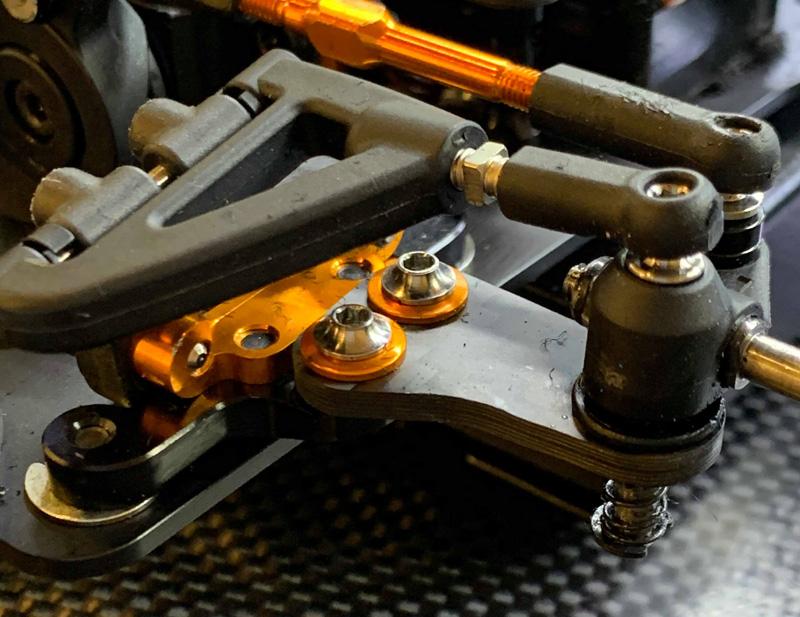 Avid Titanium XRAY X12 Ballstud Kingpins