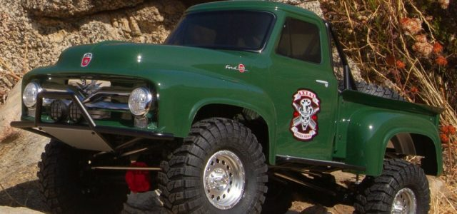 Axial SCX10 II 1955 Ford F-100 4WD RTR Scale Rock Crawler [VIDEO]