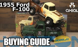 Buying Guide: Axial SCX10 II 1955 Ford F-100 4WD RTR Scale Rock Crawler [VIDEO]