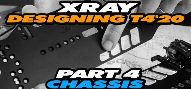 Designing The XRAY T4'20 – Part 4 – Chassis [VIDEO]