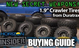 Horizon Insider Buying Guide: 1.9″ Crawler Tires from Duratrax [VIDEO]
