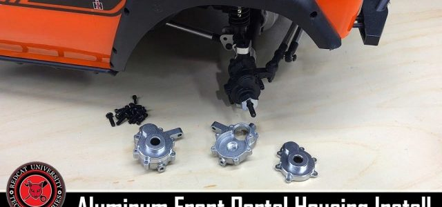 How To: Redcat Racing Gen8 Scout II & PACK Aluminum Front Outer Portal Housing Set Install [VIDEO]