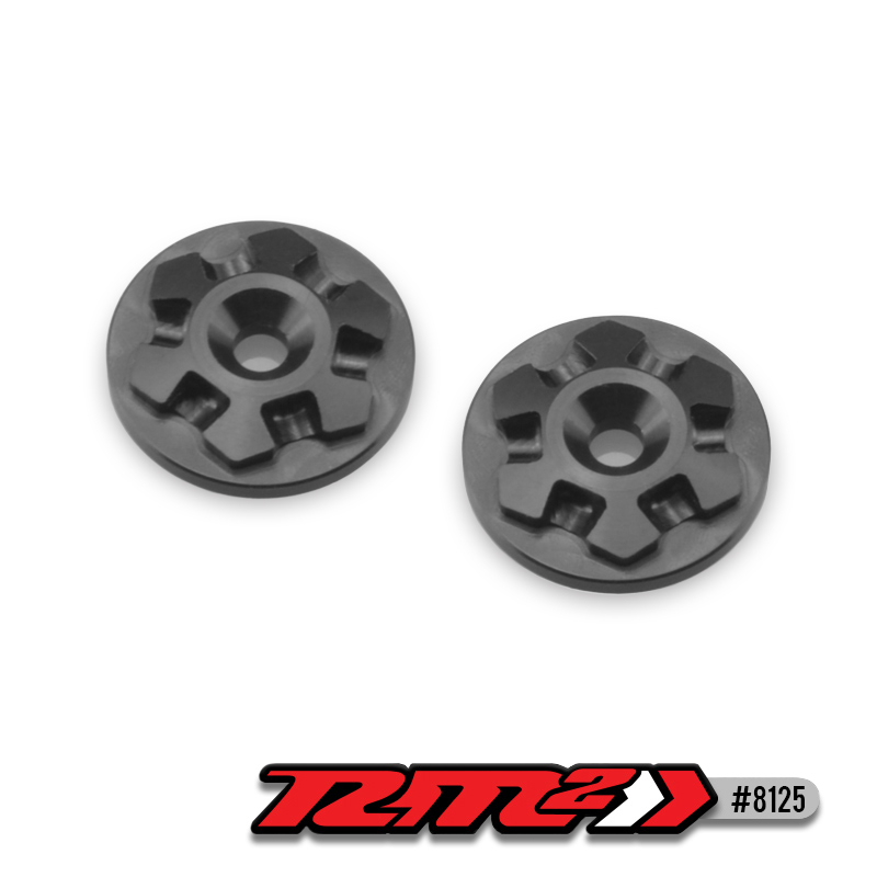 JConcepts RM2 Clover 1/8 Buggy Wing Buttons