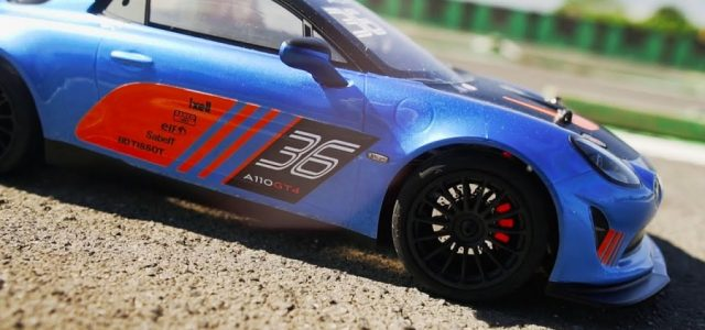 Kyosho FAZER Mk2 Series ALPINE GT4 [VIDEO]