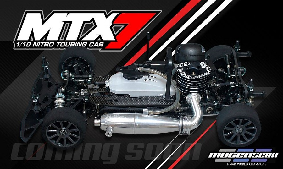 Mugen MTX7 1/10 Nitro Touring Car Kit