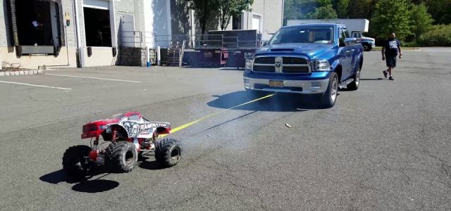 Primal Raminator Monster Truck Towing Demo [VIDEO]