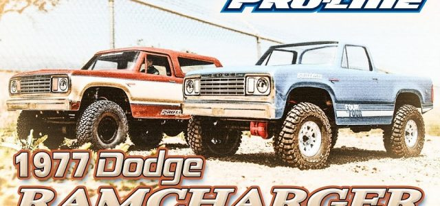 Pro-Line 1977 Dodge Ramcharger Clear Body [VIDEO]