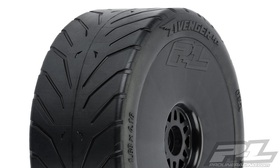 Pro-Line Avenger HP Street BELTED Mounted 1:8 Buggy Tires