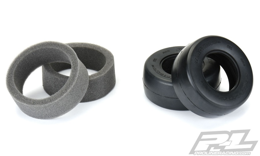 "Pro-Line Reaction HP SC 2.2""/3.0"" Drag Racing BELTED Tires"