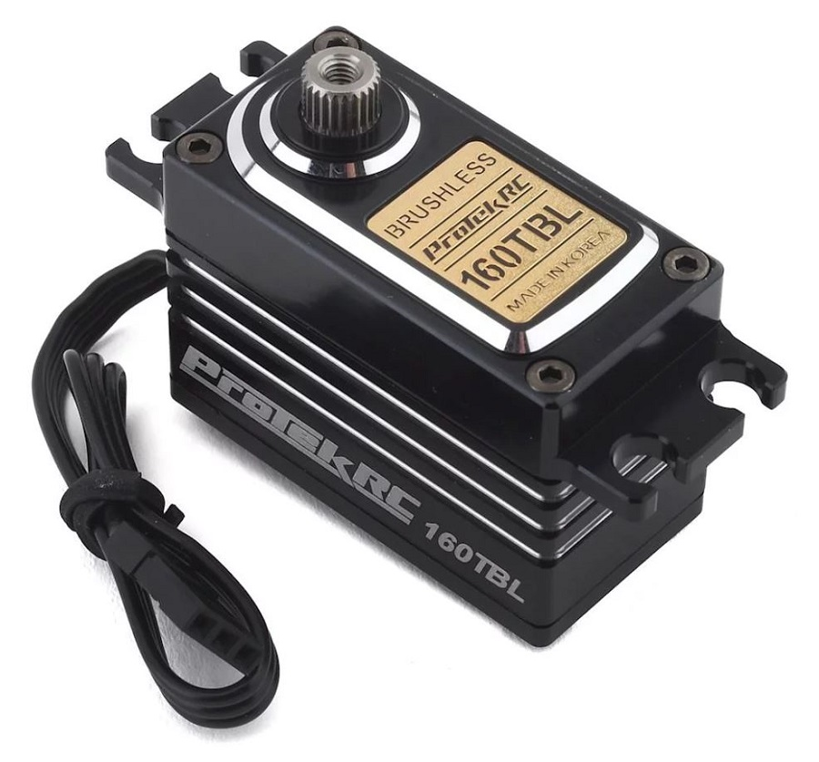 ProTek 160TBL Black Label Low Profile High Torque Brushless Servo