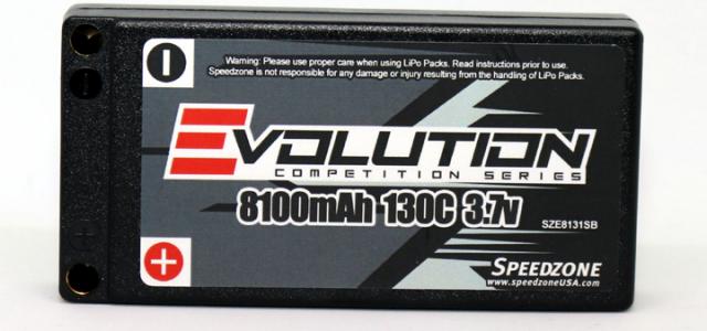 Speedzone Announces Evolution Brand & LiPo Packs