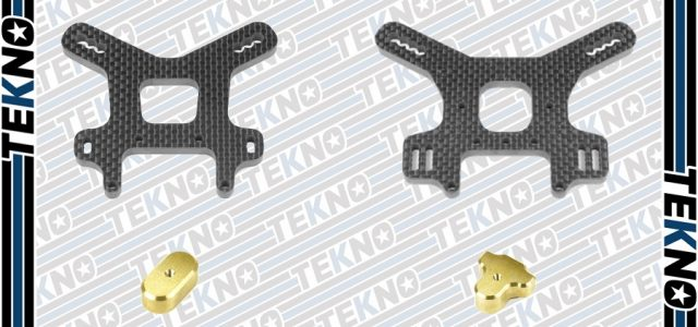 Tekno NB48 2.0 Carbon Fiber Shock Towers & Brass Weights