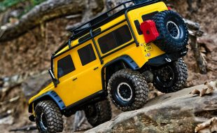 Traxxas Special Edition TRX-4 With Yellow Land Rover Defender Body