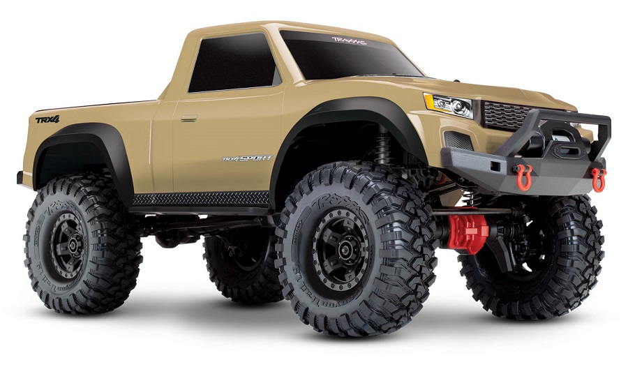 Traxxas TRX-4 Sport With New Desert Tan Body