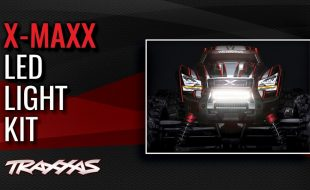 Traxxas X-Maxx LED Light Kit [VIDEO]