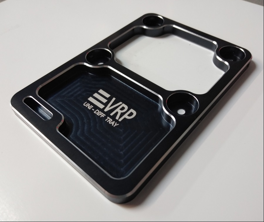 VRP Black 1/8 Universal Diff Service Tray
