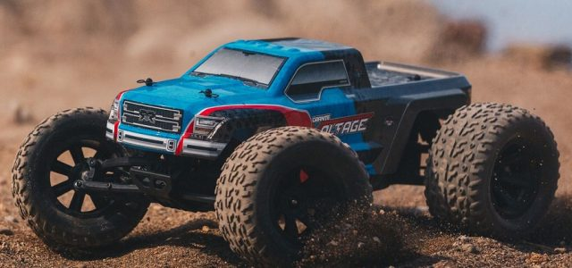 ARRMA 1/10 Granite Voltage 2WD Brushed Mega Monster Truck RTR [VIDEO]