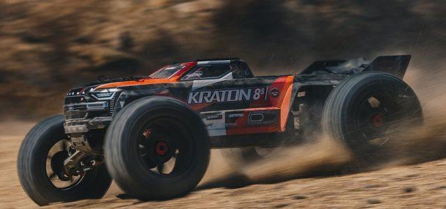 ARRMA KRATON 1/5 8S BLX 4WD Speed Monster Truck RTR [VIDEO]