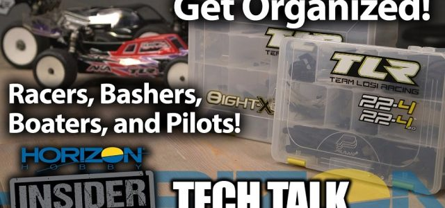 Horizon Insider Tech Talk: Get Your RC Program Organized [VIDEO]