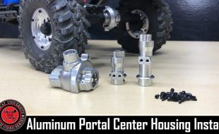 How To: Redcat Gen8 Scout II & PACK Aluminum Center Portal Gearbox Housing Install [VIDEO]