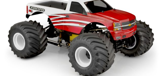 JConcepts 2005 Chevy 1500 Single Cab Clear Body