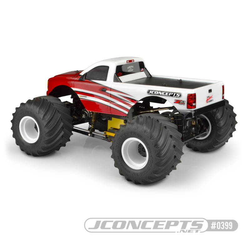 JConcepts 2005 Chevy 1500 Singe Cab Clear Body