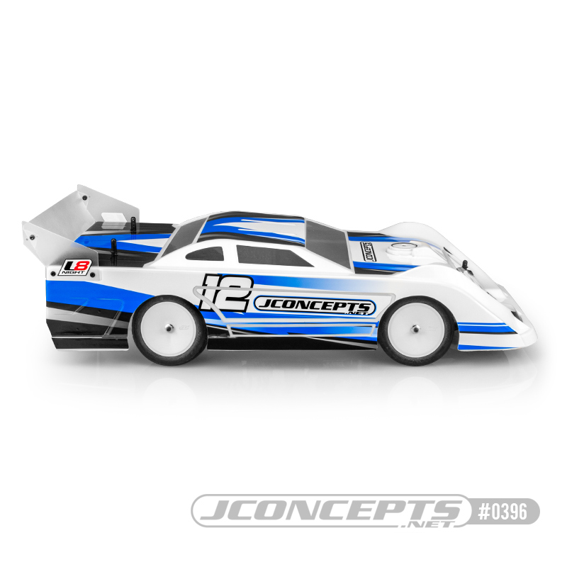 JConcepts L8 Night 1/10 Late Model Clear Body