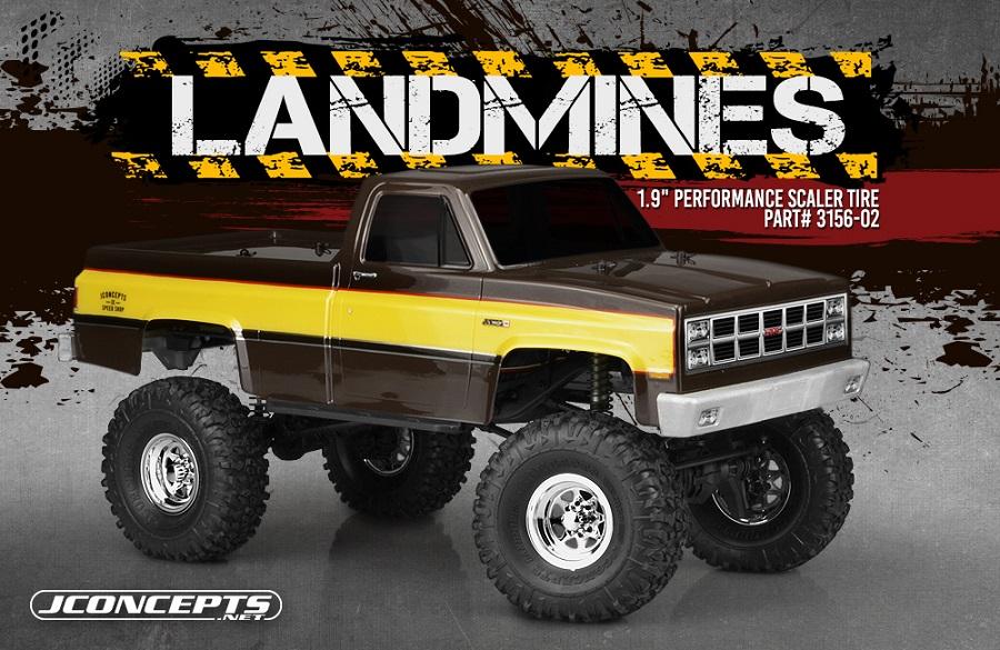 """JConcepts Landmines 1.9"""" Performance Scale Tire"""