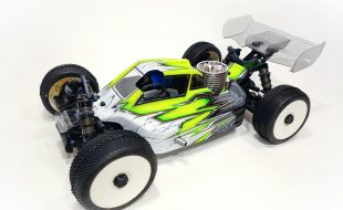 Leadfinger Tactic A2.1 Clear Body For The Tekno NB48 2.0