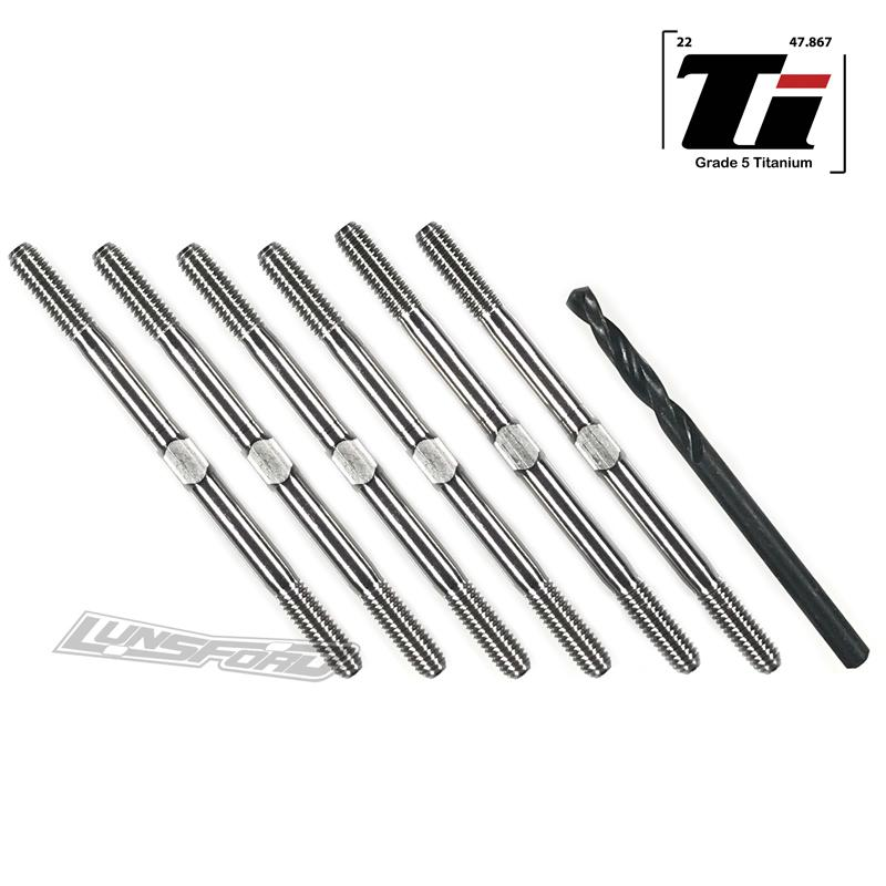 Lunsford Punisher Titanium Turnbuckles For The XRAY XB2C/D 2020