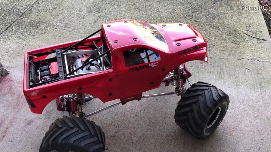Primal RC Raminator Rear Wheel Steering Conversion Kit