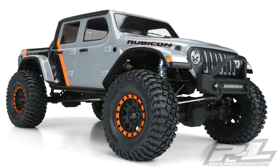 Pro-Line 2020 Jeep Gladiator Clear Body - RC Car Action