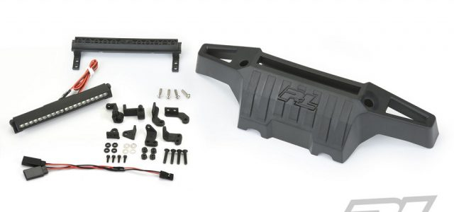 Pro-Line PRO-Armor Front Bumper With 4″ LED Light Bar For The Traxxas X-MAXX