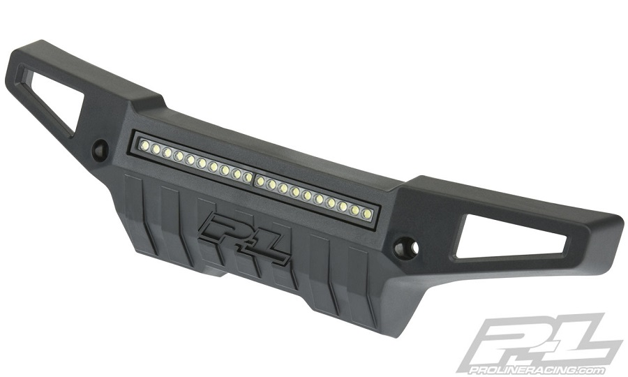 """Pro-Line PRO-Armor Front Bumper With 4"""" LED Light Bar For The Traxxas X-MAXX"""