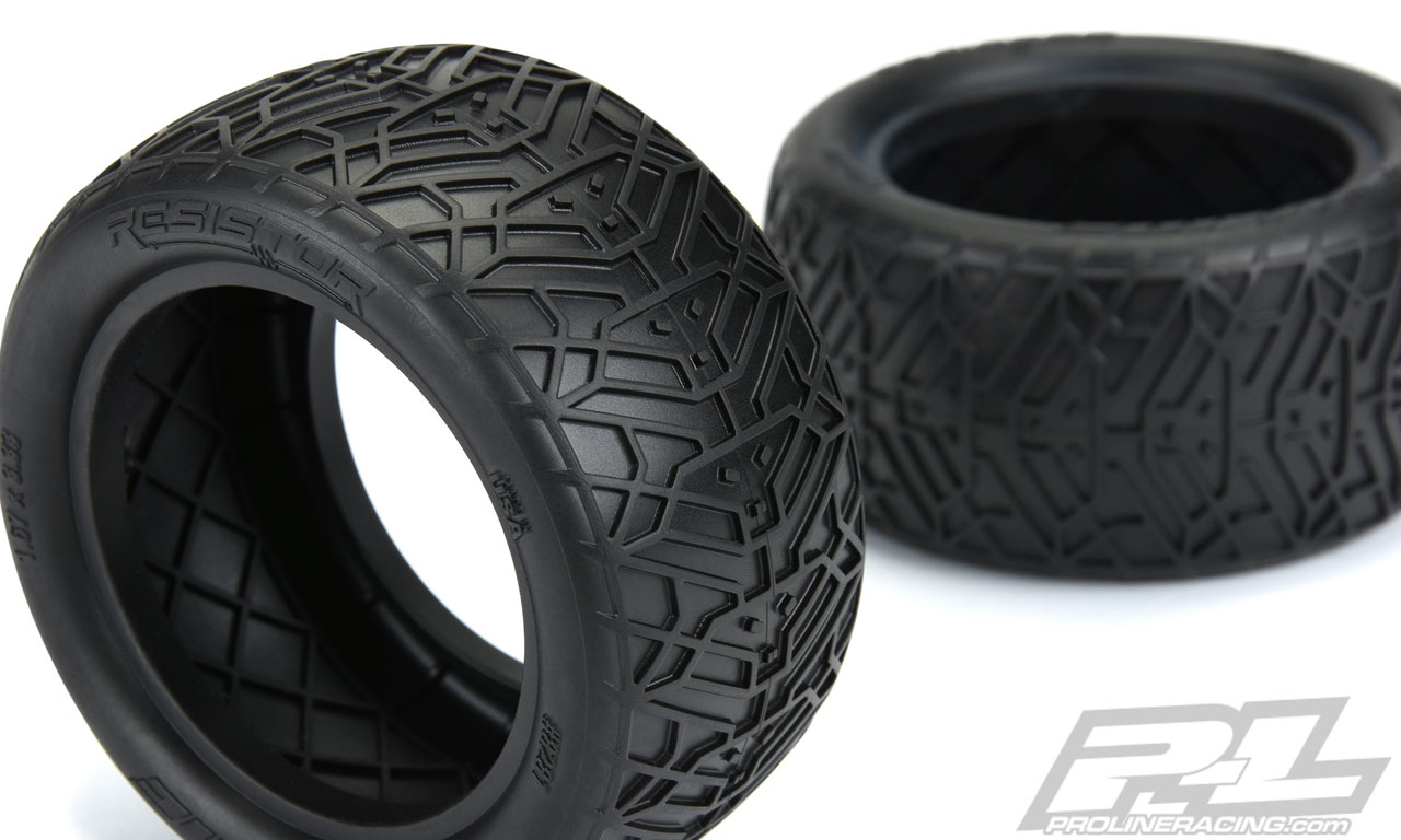 "Pro-Line Resistor 2.2"" Off-Road Buggy Rear Tires"