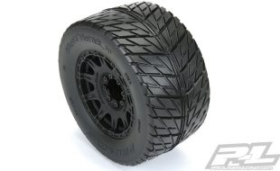 Pro-Line Street Fighter HP 3.8″ Street BELTED Tires Mounted