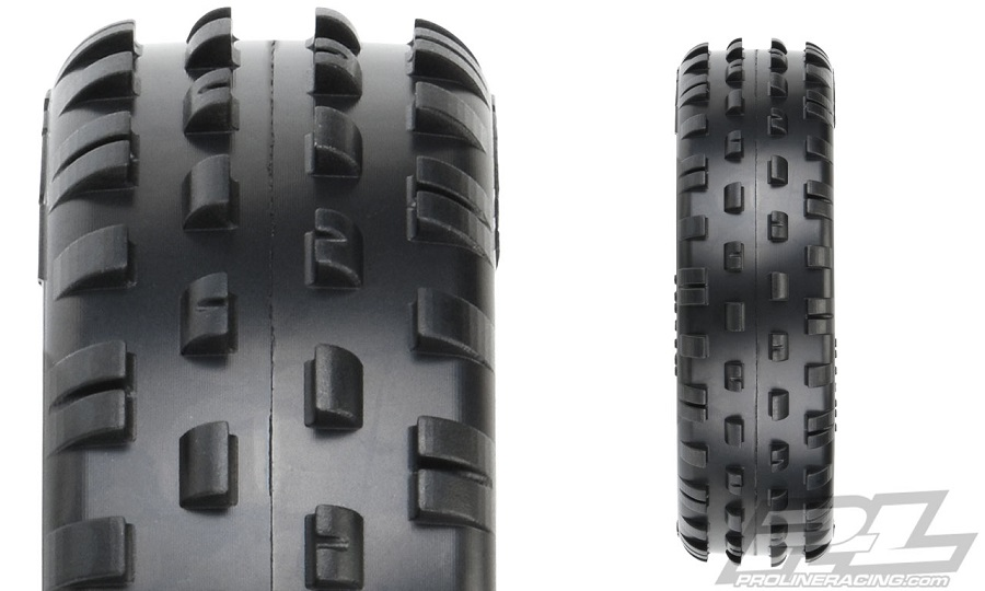 "Pro-Line Wedge Gen 3 2.2"" 2WD Off-Road Carpet Buggy Front Tires"
