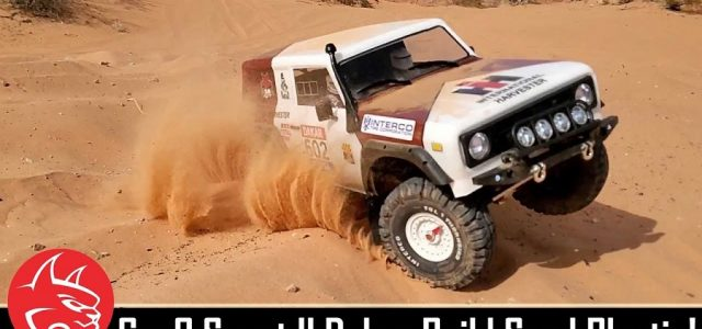 Sand Blasting With A Custom Dakar Redcat Racing Gen8 Scout II Build [VIDEO]
