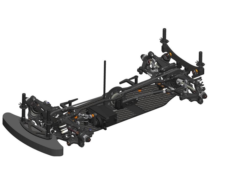 Serpent Medius X20 MID Carbon 1/10 Electric Touring Car