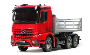 Tamiya Special Edition R/C Mercedes Benz Arocs Tipper Truck Kit