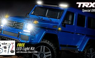 Traxxas Mercedes-Benz G 500 4×4² & TRX-4 With Traxx Special Offers
