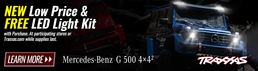 Traxxas Mercedes-Benz G 500 4x4² & TRX-4 With Traxx Special Offers