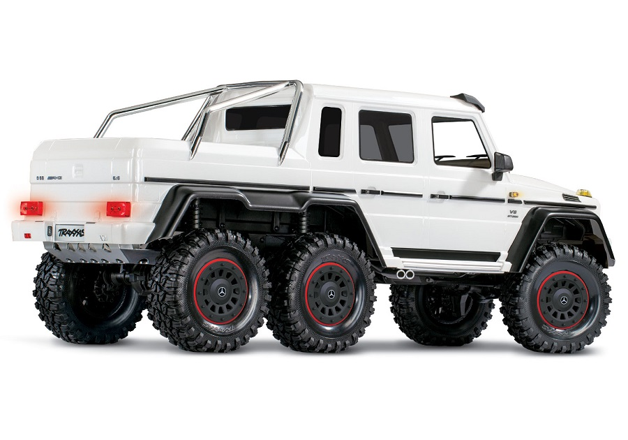 Traxxas TRX-6 Metallic White Edition
