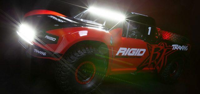 Traxxas Unlimited Desert Racer With New Graphics & LED Light Kit [VIDEO]