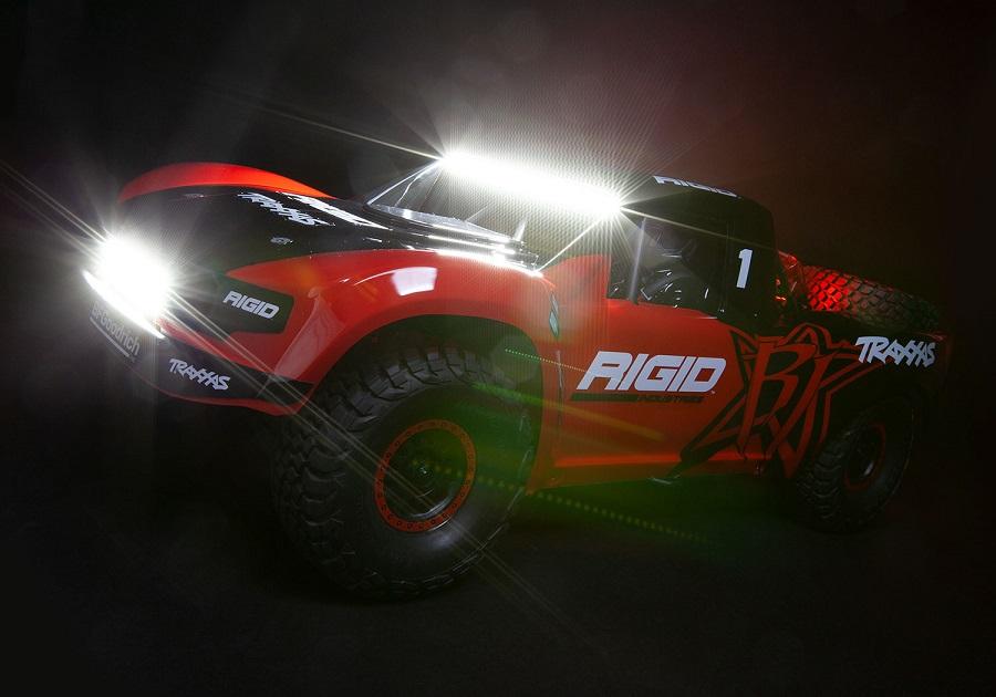 Traxxas Unlimited Desert Racer With New Graphics & LED Light Kit