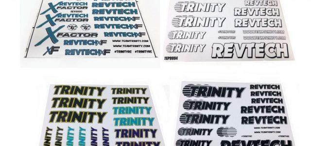 Trinity Revtech Sticker Sheets